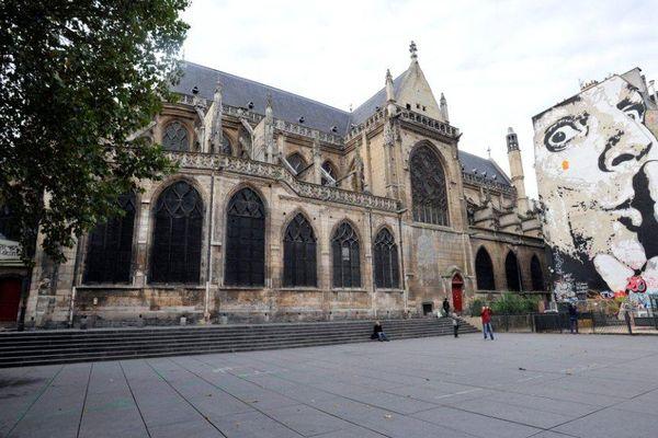 L'église Saint-Merri, à Paris.