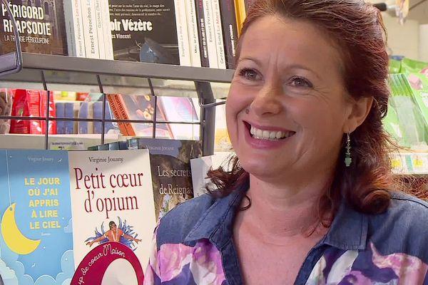 Virginie Jouany, radieuse romancière de Thonac