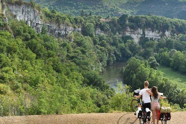 vallée et gorges de l'Aveyron