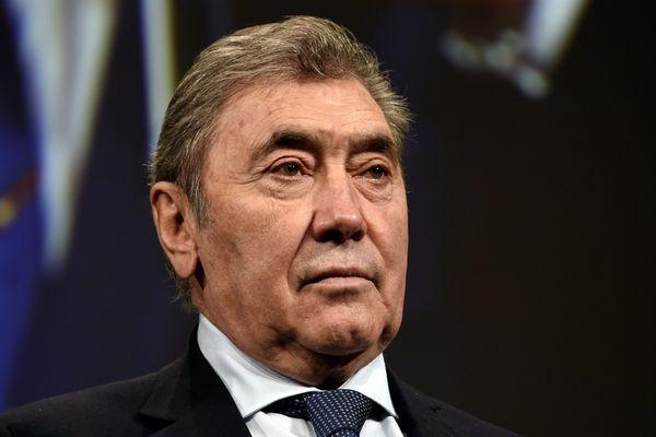 Eddy Merckx, le 25 octobre 2018 à Paris.