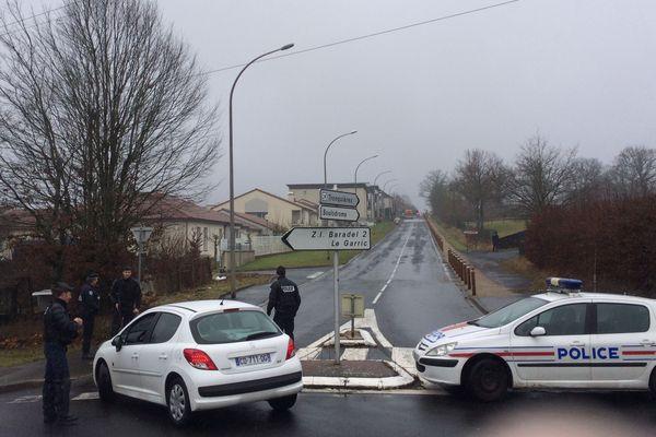 Plusieurs caravanes ont été évacuées ce mercredi 10 janvier à Aurillac