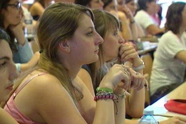Des étudiantes en Master 1 - Ecole Supérieure du Professorat et de l'Education (Orléans)