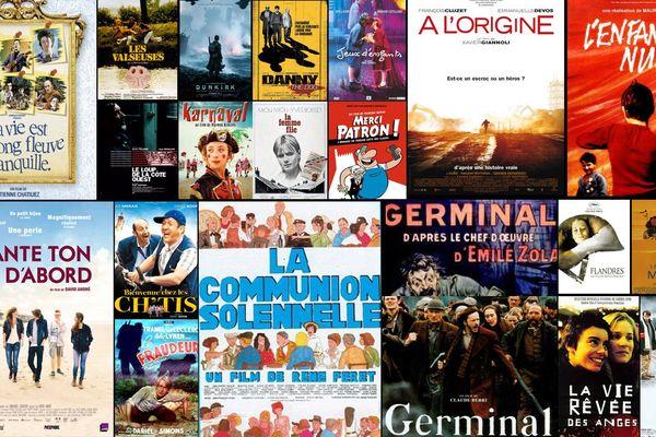 Quelques affiches de films tournés dans la région
