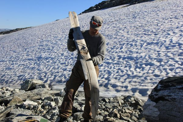 two wood skis found within the Norwegian ice, in excellent situation, and courting from … prehistoric instances