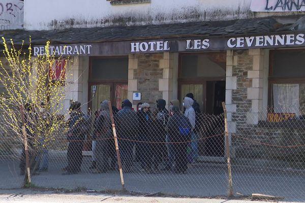 L'Hôtel des Cévennes, à Saint-Julien-des-Points en Lozère, est occupé depuis le 2 mars prochain.