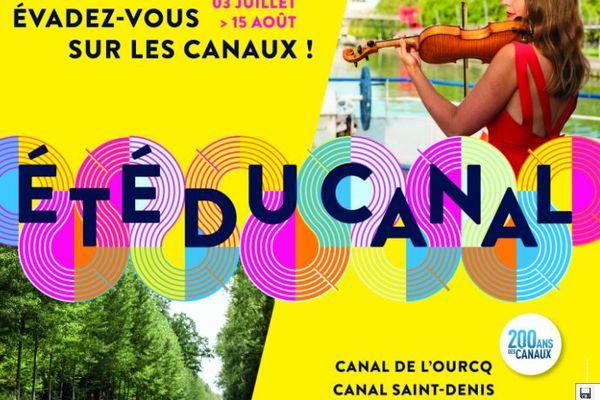 L'Été du Canal 2021 du 3 juillet au 15 août.