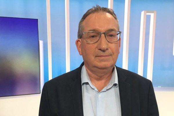 Marc Bigot sur le plateau de France 3 Bretagne