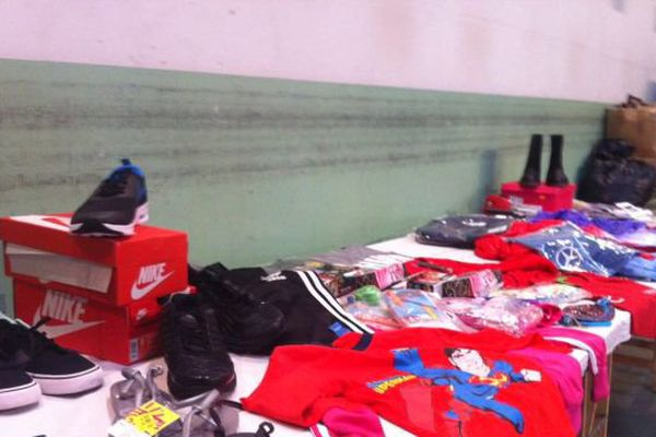 18 600 articles de contrefaçons détruits à Saran (Loiret)