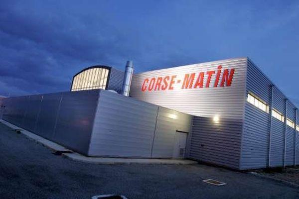 Le site d'impression de la société Corse Presse à Lucciana, en Haute-Corse
