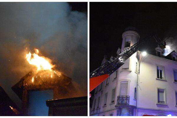 Incendie le 19 novembre à Mulhouse
