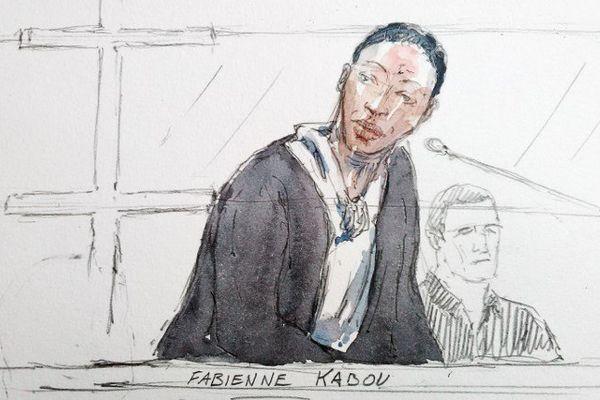 Fabienne Kabou lors de son premier procès.