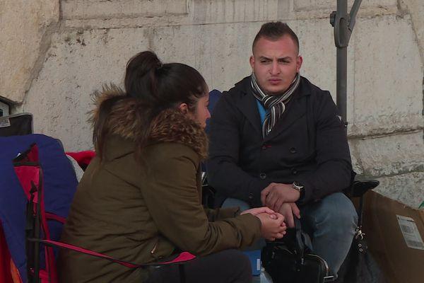 Rabah, étudiant sans Master a levé le camp après une semaine de grève de la faim