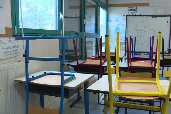 Cette semaine dans l'académie d'Aix-Marseille, une école est fermée ainsi que 24 classes.