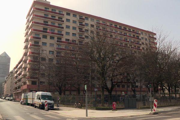 La Métropole de Lyon vient de racheter cet immeuble situé au 100 rue Bugeaud, dans le 6e arrondissement.