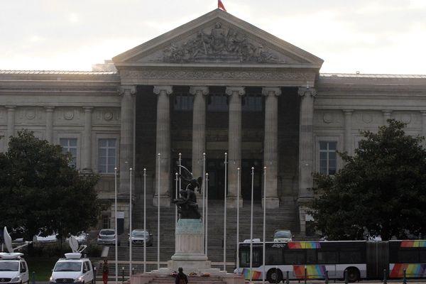 Le tribunal d'Angers en octobre 2015.