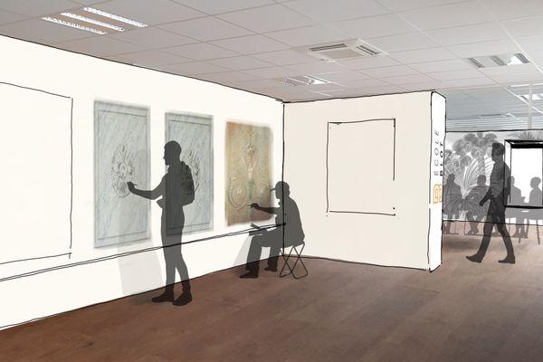 Le futur atelier de l'Ecole Blot ressemblera à cela. Les locaux au 10 rue Gaston Boyer sont en plein agencement.