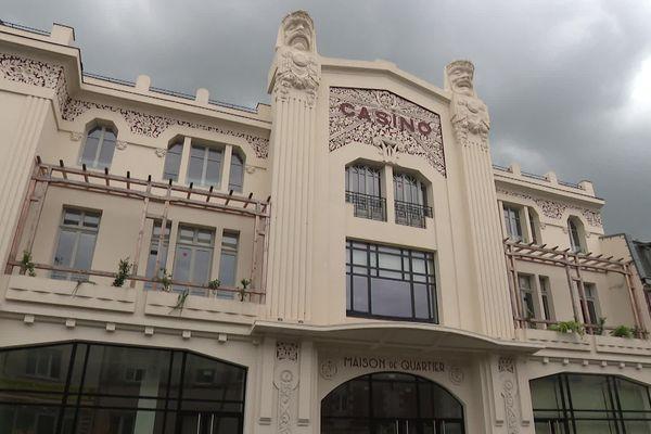 L'ancien cinéma Le Casino à Saint-Quentin rénové en 2021 après deux ans de travaux