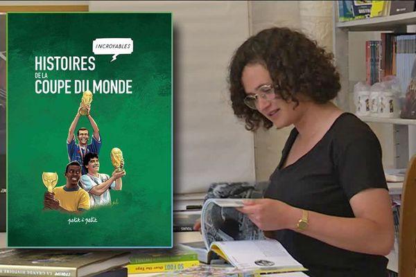 Charlotte Delavigne, la chargée de projet du livre
