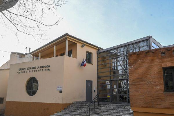 Ecole La Miranda dans le quartier Saint-Jacques de Perpignan