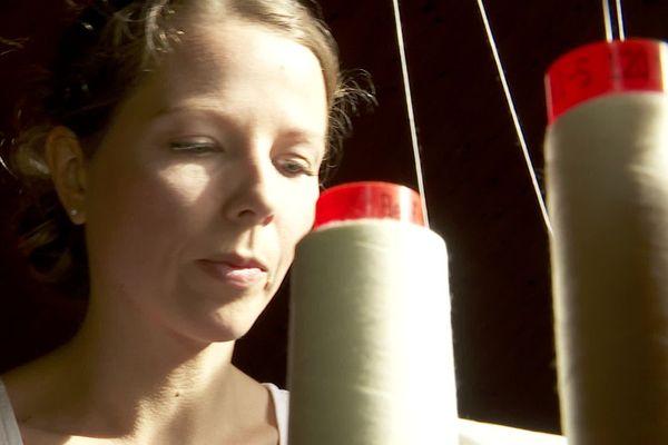 Elsa Ponzio a lancé son site de vente en ligne fin avril, elle y propose des langes de bébé en coton bio et éthiques.