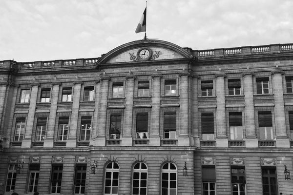La mairie de Bordeaux ou hôtel de Rohan