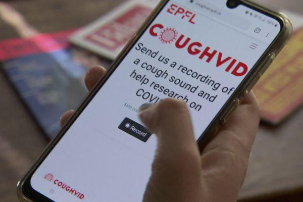 "L'application s'appelle ""Coughvid""."