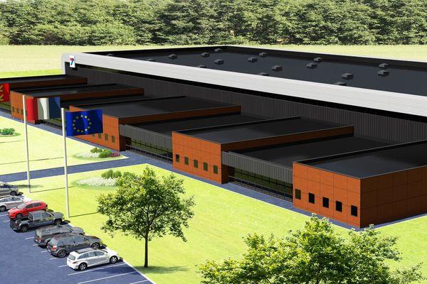 La nouvelle usine Thermocoax va s'étendre sur 12 000 m²