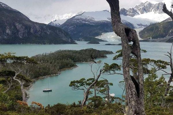 Escale au pied des glaciers