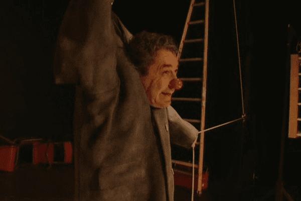 Philippe Goudard au théâtre Tabard à Montpellier - mars 2014.
