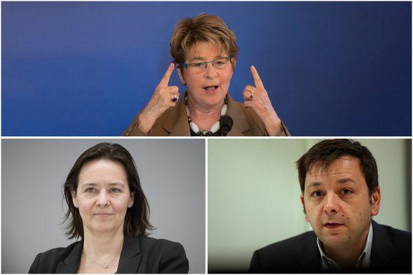 Marie-Guite dufay, Stéphanie Modde et Bastien Faudot