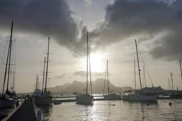Escale à Mindelo, Cap Vert.
