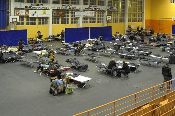 Hébergement d'urgence à Lyon dans le cadre du plan hivernal (Archives)
