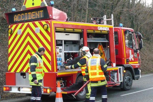 Les pompiers de la Drôme sont intervenus sur deux accidents sur la LACRA.