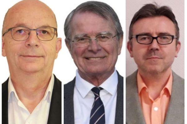 Gilles Lazar, Fernand Burkhalter et Patrick Adam sont en lice pour le poste de maire à Héricourt.