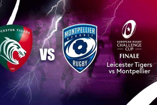 """Montpellier affronte les Anglais de Leicester en finale de la """"Challenge Cup"""" vendredi (21h00) à Twickenham."""