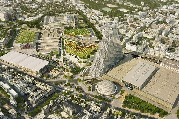 Le futur parc des expositions