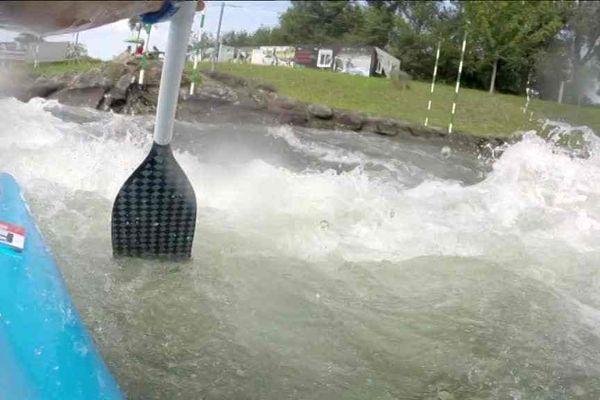 Les périgourdins décrochent 3 médailles d'or pour la première journée des mondiaux de Kayak à Pau
