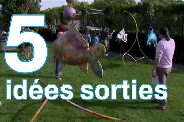 la « O'Fish-Parade » animera à nouveau le jardin de la Charpenterie.