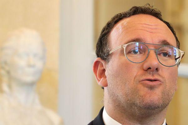 Damien Abad, député LR de l'Ain