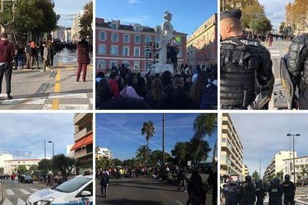Blocage total ou partiel de Toulon à Nice ce lundi 3 décembre.