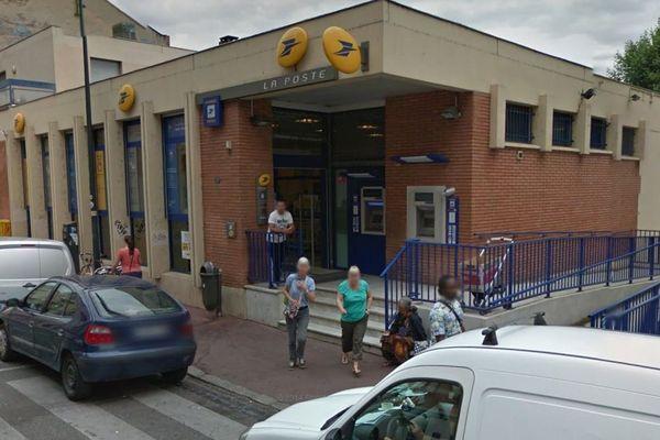 Le bureau de poste de Toulouse Saint-Michel