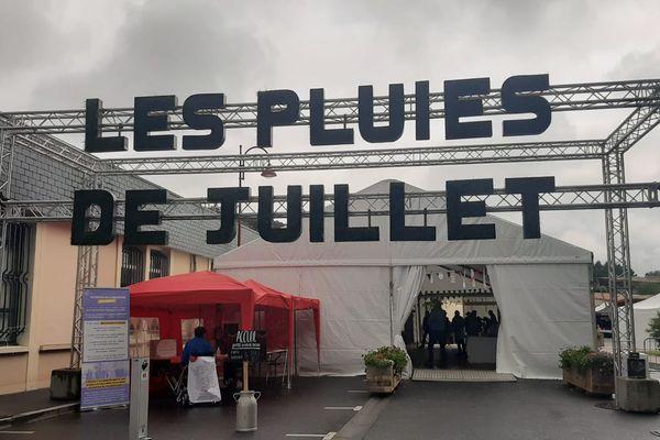 La quatrième édition des Pluies de Juillet à Villedieu-les-Poêles-Rouffigny, dans la Manche, le 10 juillet 2021.