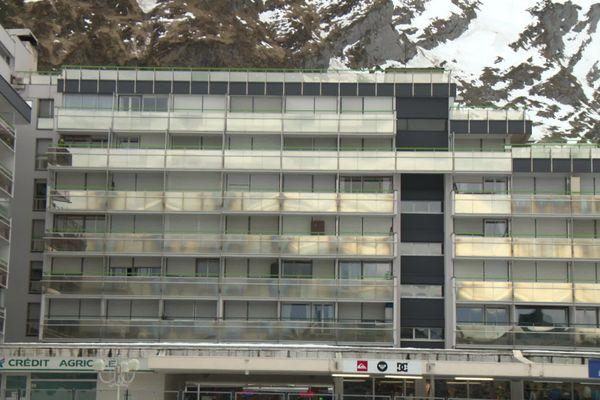 La plateforme du Valentin a été construite en 1967 et son parking nécessite aujourd'hui des travaux de sécurisation.