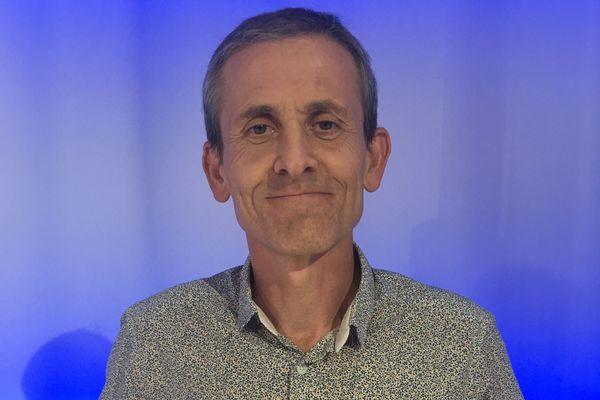 Nicolas Mercat, élu au Bourget-du-Lac en Savoie