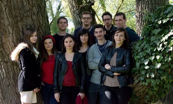 L'équipe du webdoc BrHouillard au grand complet.