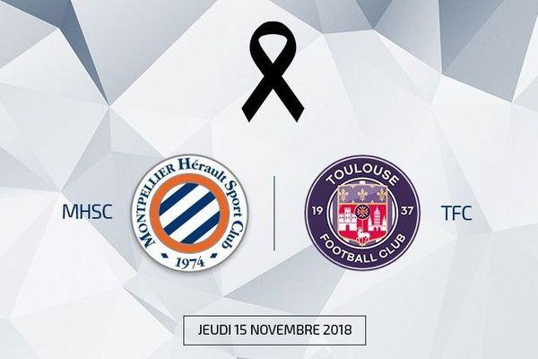 Le Montpellier Hérault Sport Club et Le Toulouse Football Club s'affronteront amicalement le 15 novembre prochain pour les sinistrés de l'Aude.