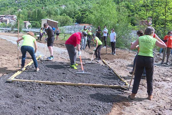 Depuis la tempête Alex, les chantiers solidaires ont réalisés plus de 70 chantiers.