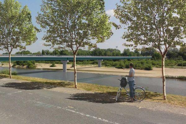 Voici à quoi devrait ressembler le second pont construit sur l'Allier à Moulins.