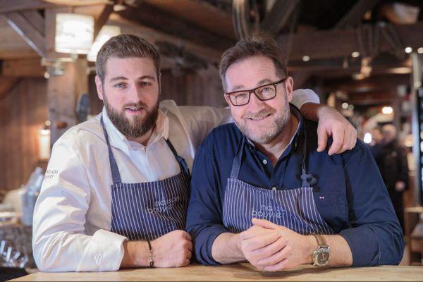 Clément et Jean-Michel Bouvier récompensés d'une nouvelle étoile au Guide Michelin.