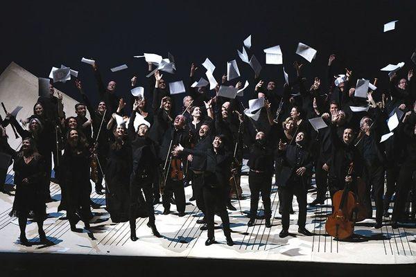 L'orchestre philharmonique de Marseille
